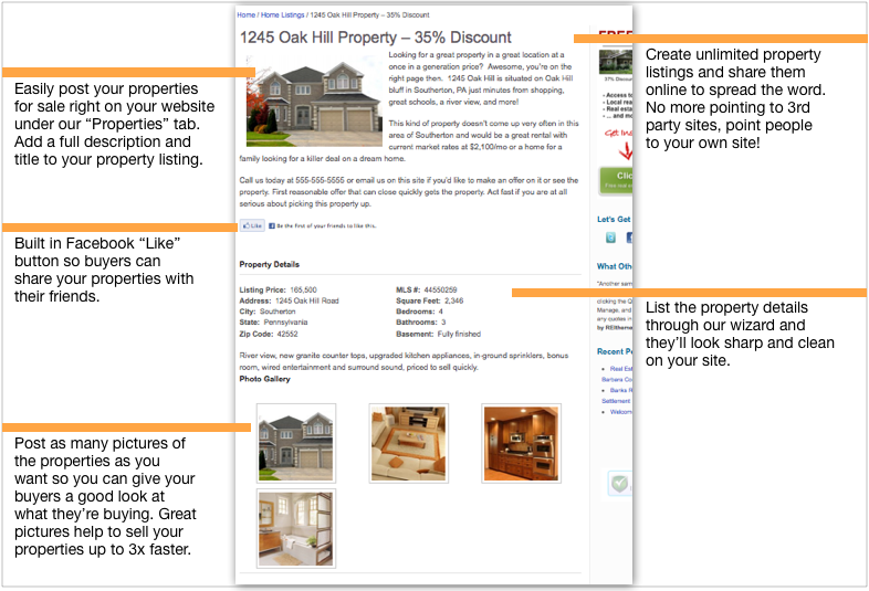 real estate investing squeeze page example
