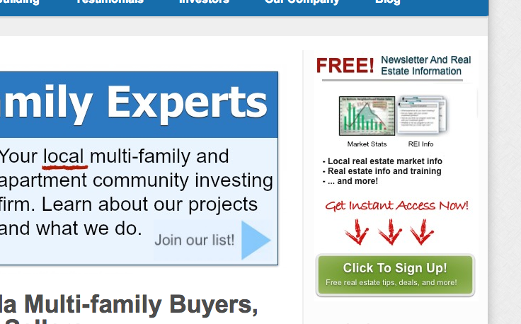 free real estate investing report sample