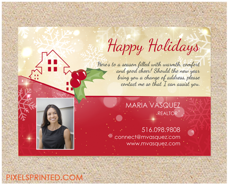 real estate direct mail holidays