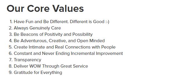 carrot-core-values