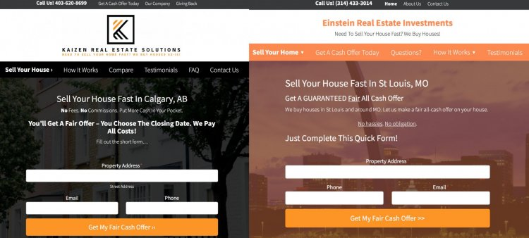 websites for real estate investors: templates