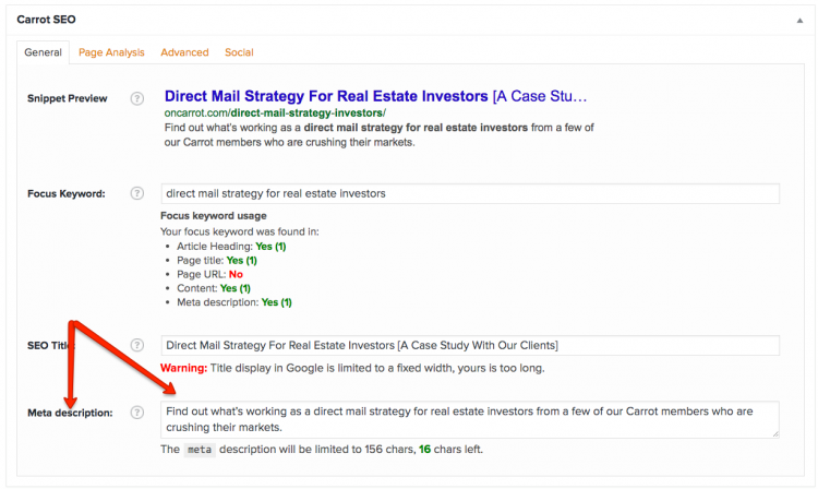 SEO tool for real estate websites