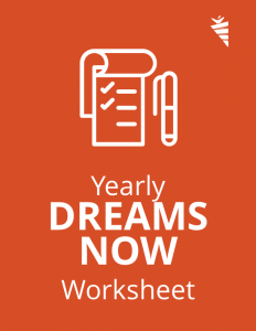 Dreams Now Worksheet