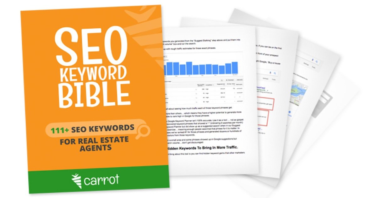seo keywords for real estate agents