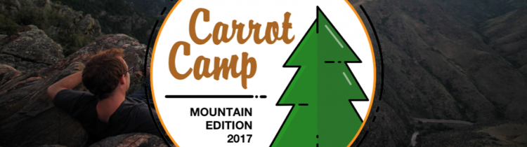carrotcamp 2017 mountain edition