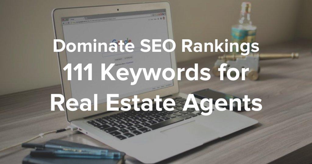 SEO Keywords for Real Estate Agents