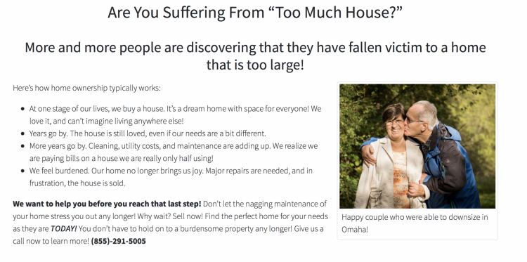 optimizing Real Estate Landing Pages