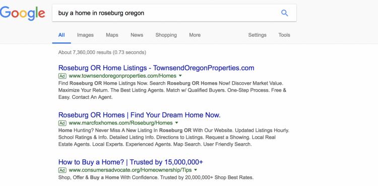 buy a home in roseburg