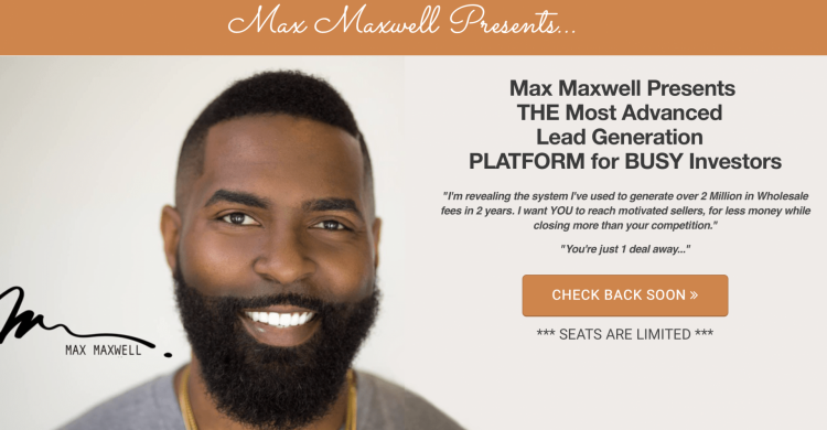 max maxwell real estate investing
