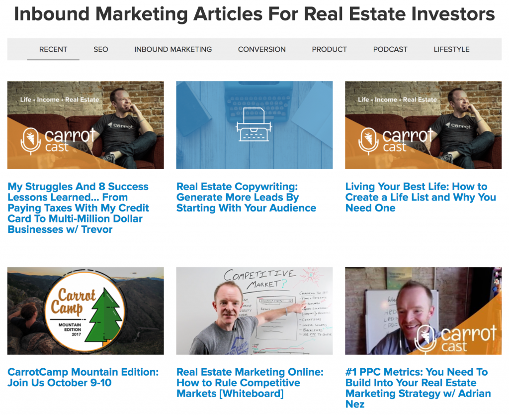 investorcarrot blog posts