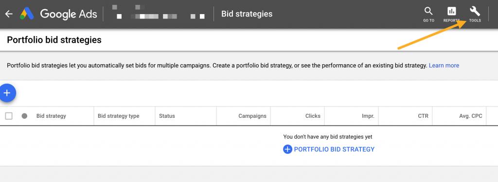 google ads portfolio bidding strategies