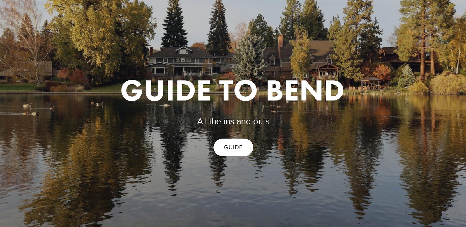 Real Estate Guides bend oregon