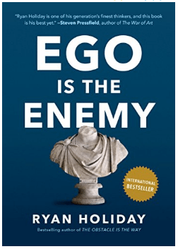 Ego is the Enemy Book