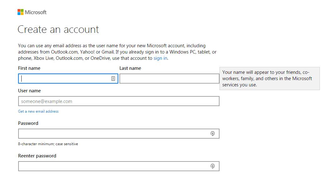 bing ads account step 5