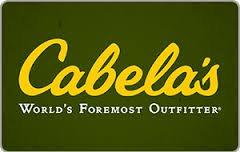 $50 Cabela's Cift Card