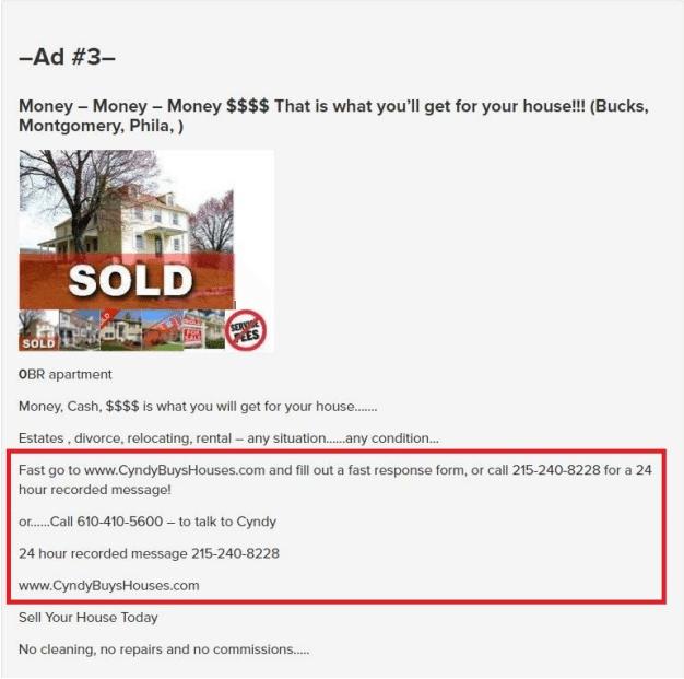 craiglist sold 1