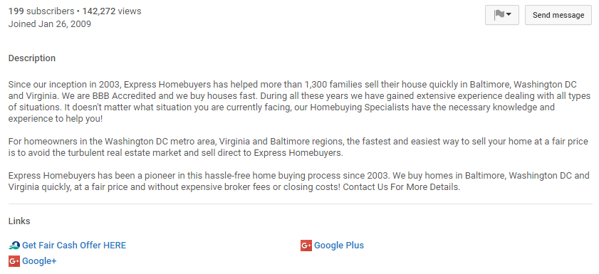 express homebuyers company youtube