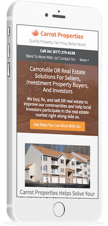 real estate investor websites - building credibility