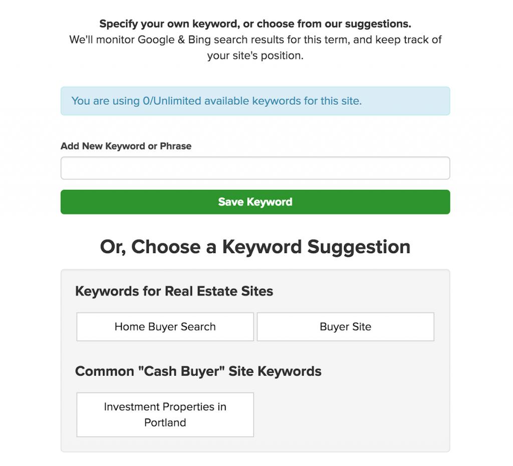 keyword-suggestion