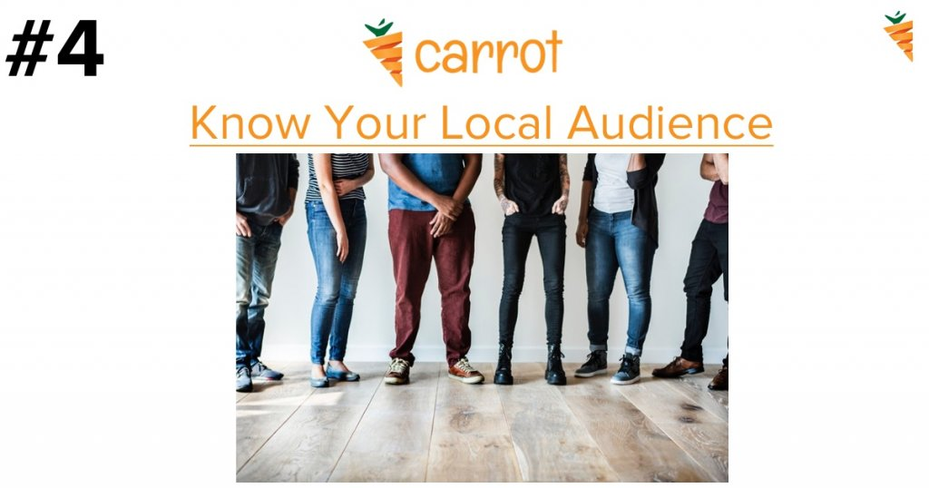 generate quality leads by knowing your local audience