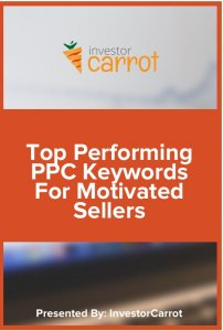 Top ppc keywords for motivated sellers report
