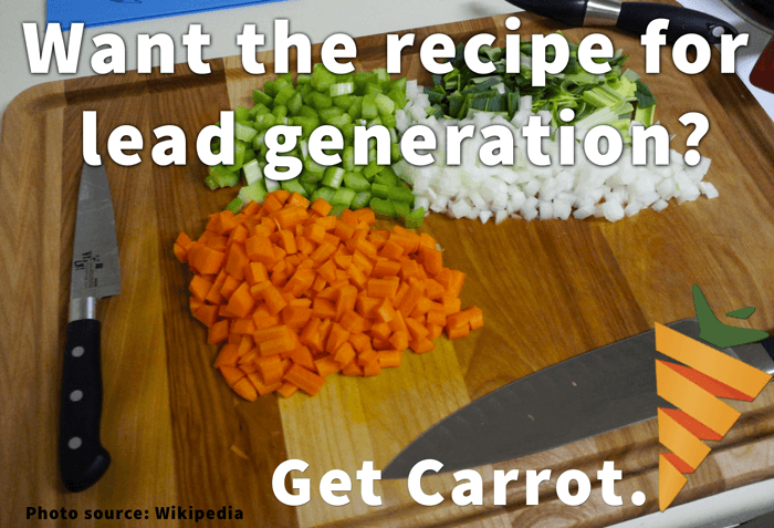 We know the recipe for real estate lead generation... and we've baked it into our sites, and we dissect it in our trainings - all to help you succeed.