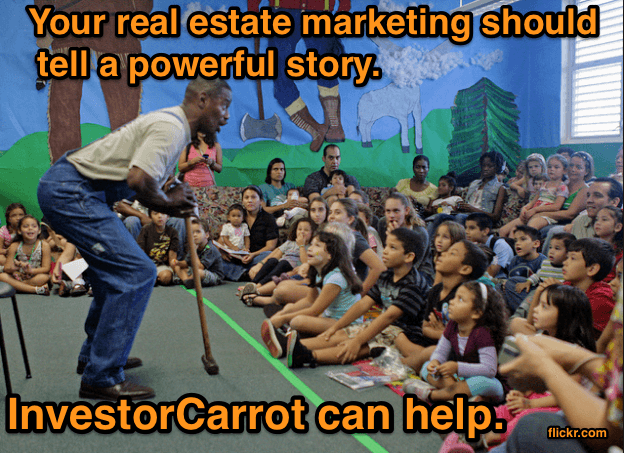 Your real estate marketing plan should be based on a powerful story. Our trainings can help you learn how.