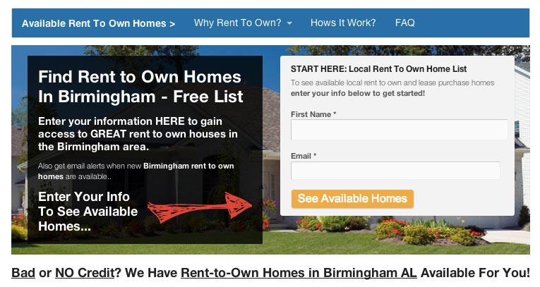 New See Our Rent To Own Website Template For Real Estate
