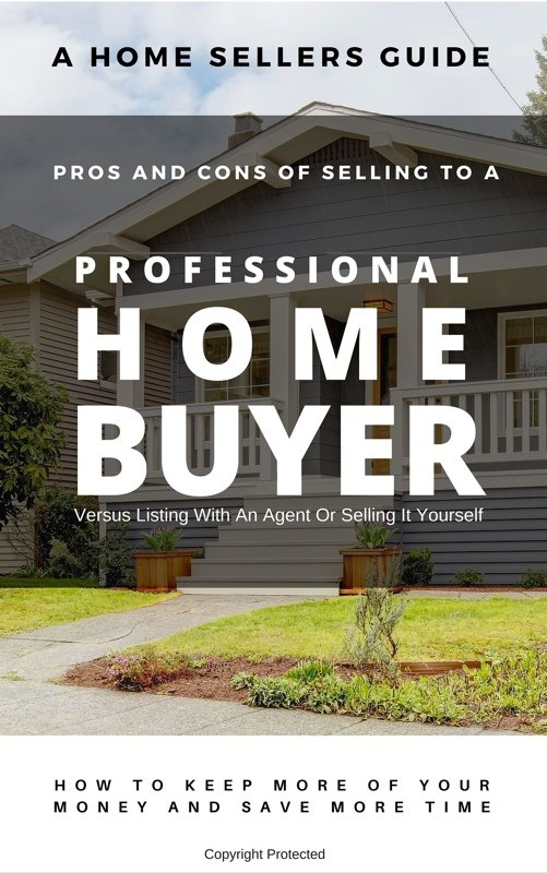 selling your California CA house to a professional home buyer report