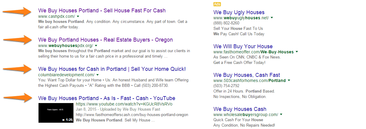 ppc vs seo for real estate