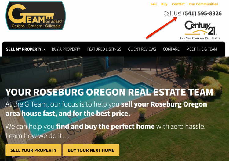 real estate website conversion rate factors