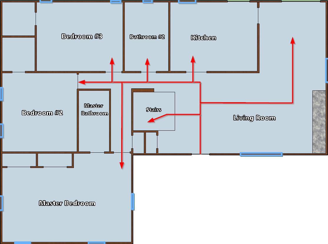 Floor plan analysis