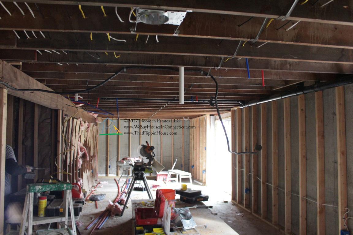 Clinton Basement Electrical and plumbing