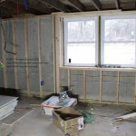 Clinton Rehab Basement Framing and electrical