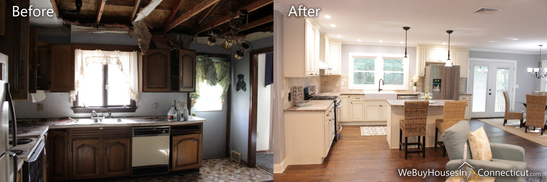 Sell My House Fast Before And After Rehab