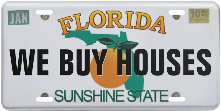 WE BUY HOUSES FL (Florida) logo