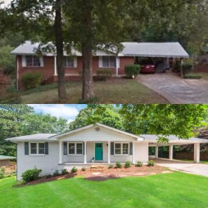 We Buy Houses Marietta - Stalcup Drive Before/After Photos