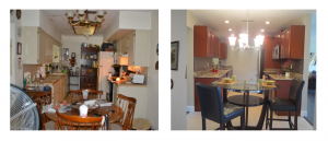 Compare - Before & Afters - we buy houses in any condition