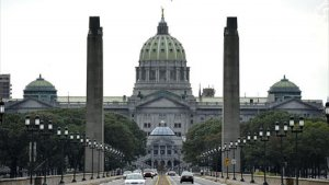 Harrisburg PA Capital Building