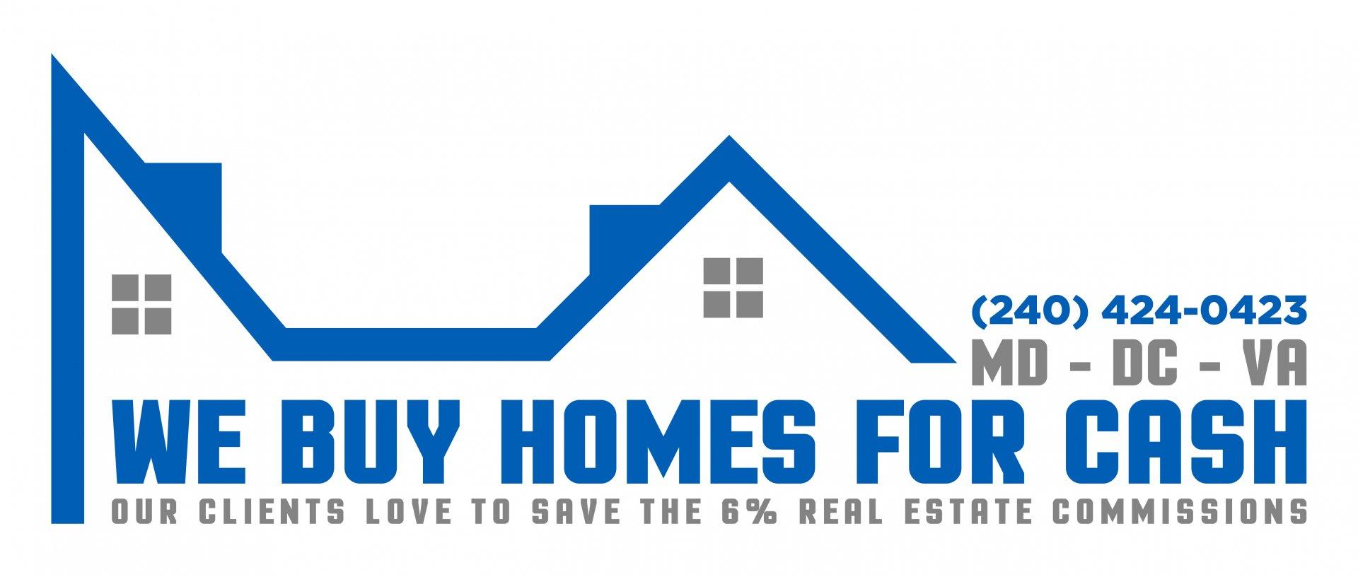 We Buy Maryland Houses logo