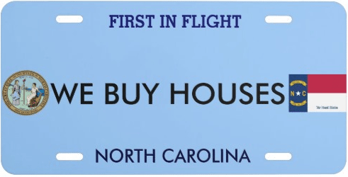 WE BUY HOUSES NC logo