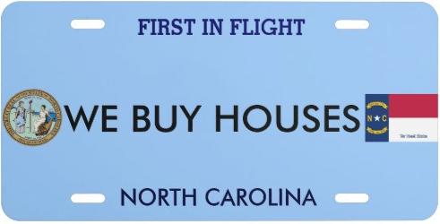 WE BUY HOUSES NC logo