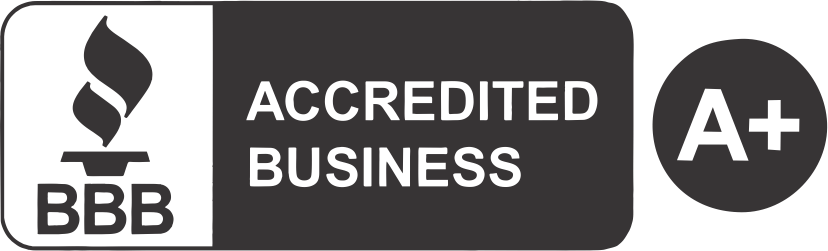 Sky Homes BBB Accredited Business A+ Seal
