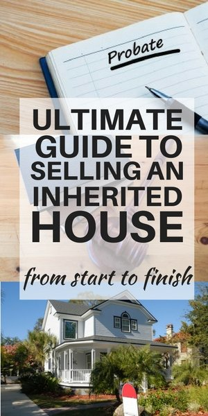 Ultimate guide to selling an inherited home to settle an estate
