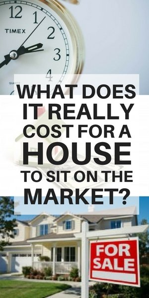 Cost for your Long Island house to sit on the market