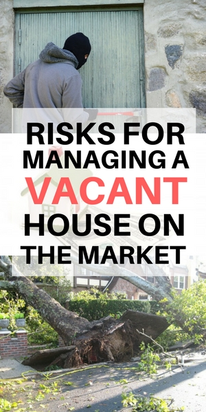 watch outs for managing a vacant house on the market - Long Island NY