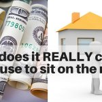 What does it really cost for a house to sit on the market for 6 months