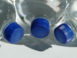 Cleaning out your parent's house - water bottles