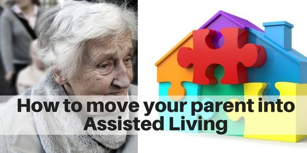 How to move a parent into assisted lving on Long Island