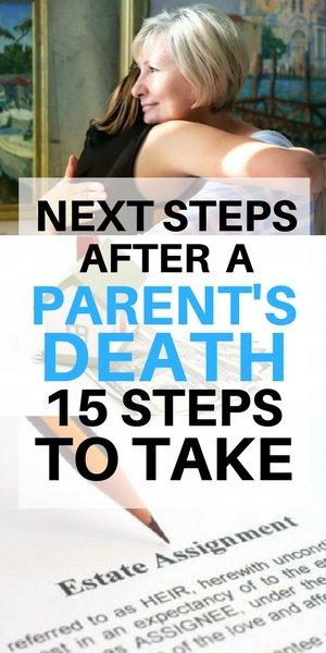 Next steps after a parent's death - Long Island
